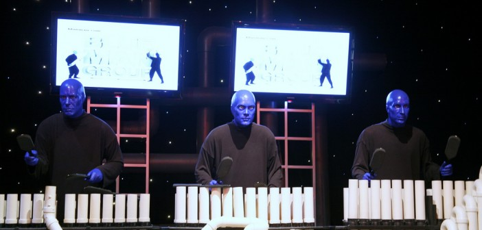 Blue-Man-Group Source: Flickr@Cliff