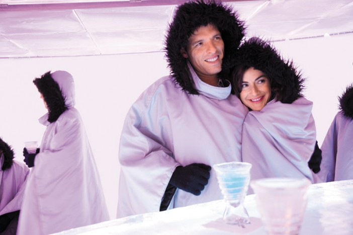 Epic_Svedka_Ice_Bar_Couple Source: NCL
