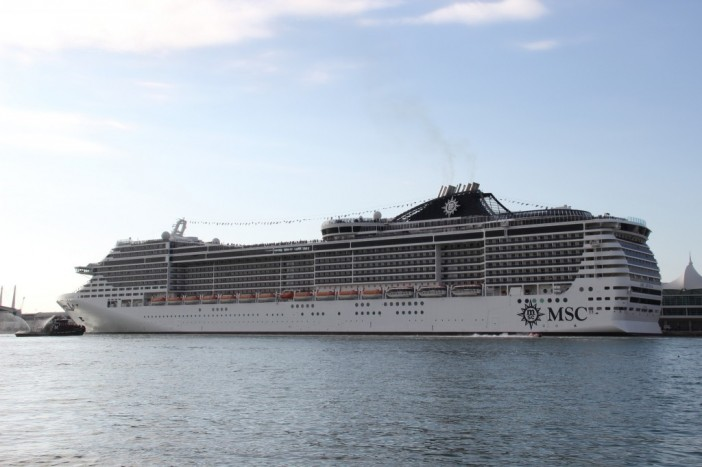MSC 'Megaship' Named