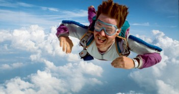 Skydiving Source: Flickr@Philip Leara