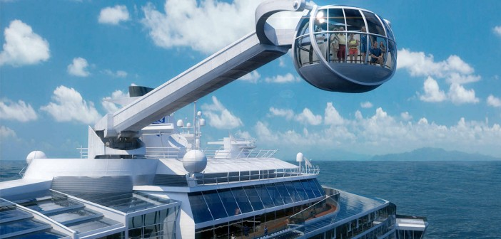Viewing platform - Courtesy of Royal Caribbean