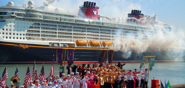 Disney Dream's Christening Source Flickr@Ricky Brigante