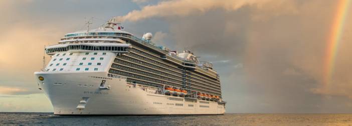 Royal Princess Cruise Ship - Courtesy of Princess Cruises