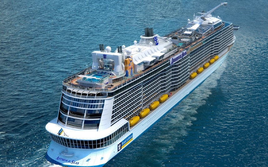 Infographic: Anthem of the Seas