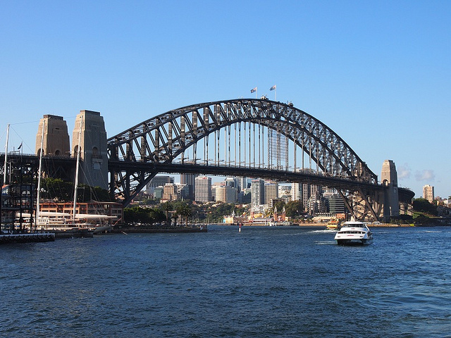 sydney_harbour_bridge Source Flickr@Paul Arps