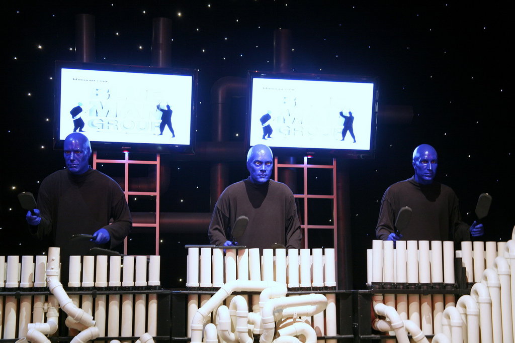 Blue Man Group - Cliff