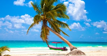 Vacations and tourism concept: Caribbean Paradise.