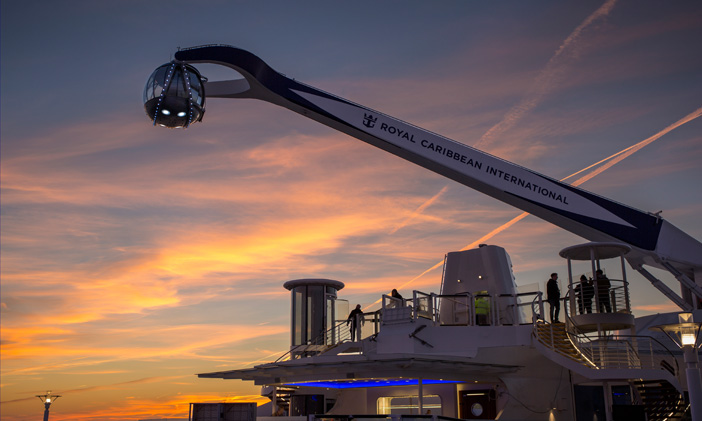 20 Days of Anthem of the Seas – NorthStar Observation Pod