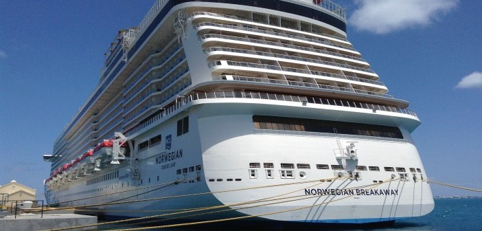 NCL Breakaway at Dock