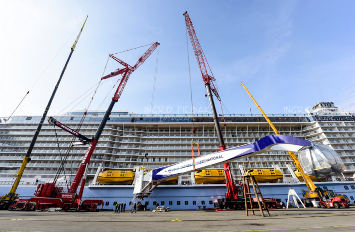 Quantum of the Seas' North Star