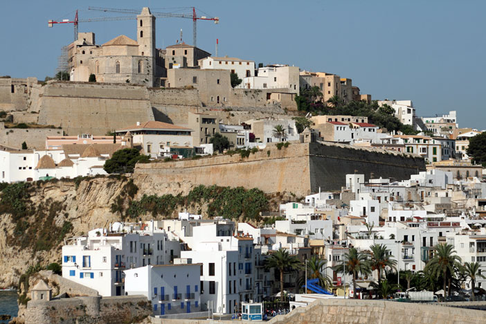 Ibiza town and castle. Flickr Creative Commons: Lori Branham