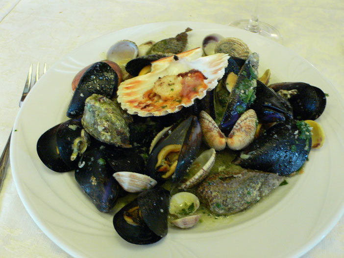 Seafood dish from Istria. Flickr Creative Commons, Heather Cowper