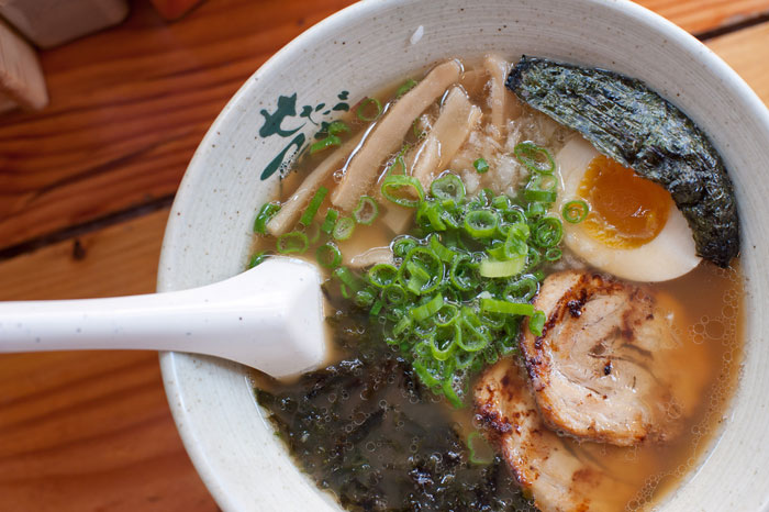 Ramen noodle bowl. Flickr Creative Commons credit: Ramen in Japan. Flickr Creative Commons credit: Dennis Tang