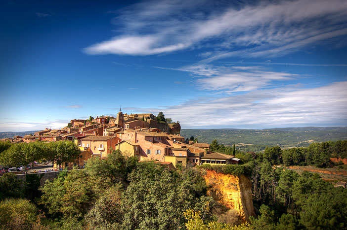 Roussillon, Provence. Flickr Creative Commons: decar66