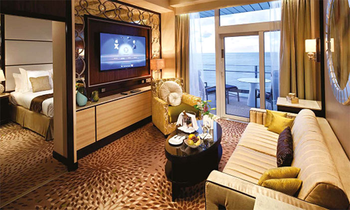 Celebrity Cruises revamp Suite Class  facilities