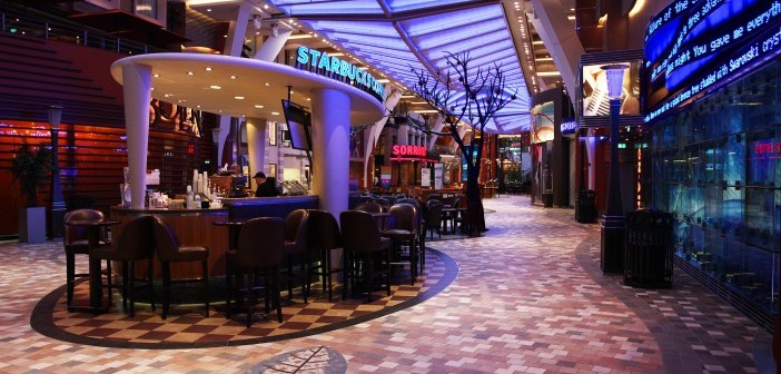 Royal Promenade on the Allure of the Seas