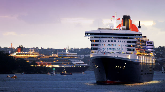 Cunard's Ships in Song, Film, Literature and History