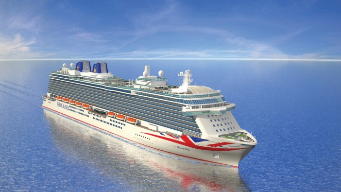 P&O Benefit from Strong Sterling During Britannia Handover