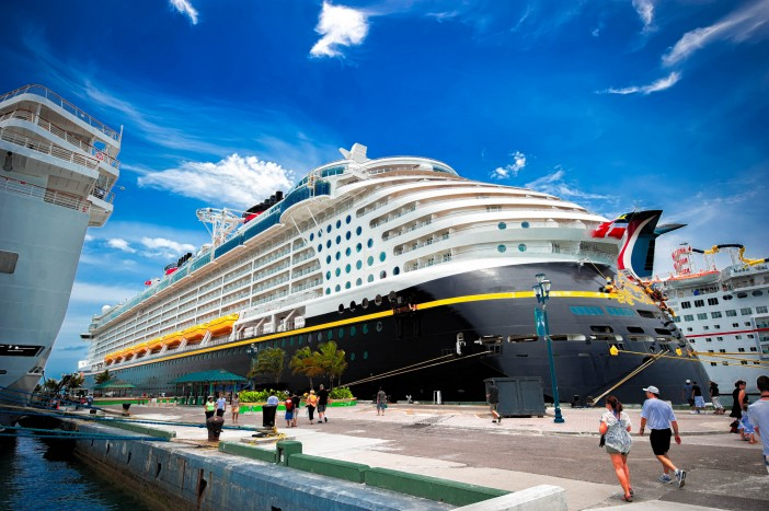 Disney Dream at the Bahamas