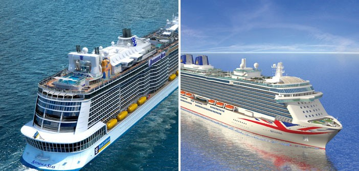 Britannia V Anthem Of The Seas The Battle Of Britain S Newest Cruise Ships Cruise1st Blog