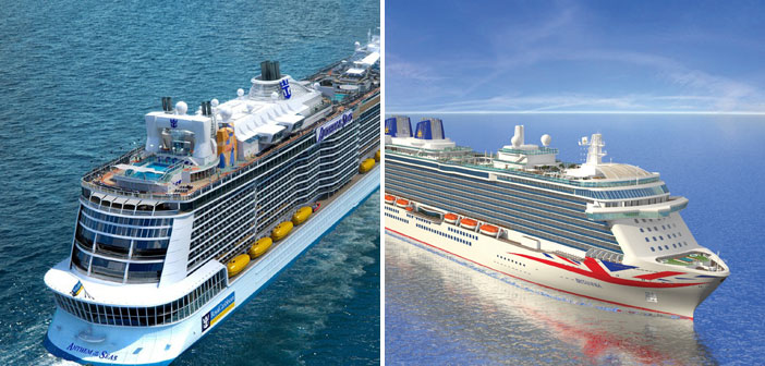 Britannia v Anthem of the Seas: The Battle of Britain's Newest Cruise Ships
