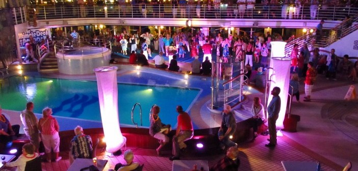 Cruise ship party