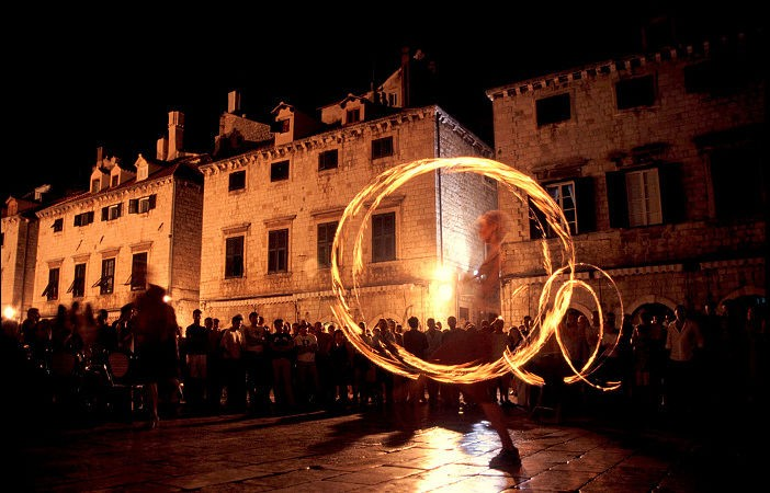 Dubrovnik Fire Dancer