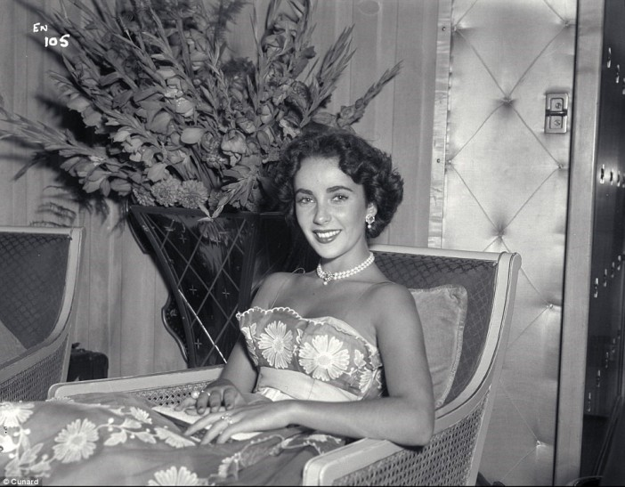 Academy Award-winning actress Elizabeth Taylor