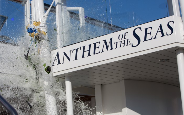 Anthem's Naming Ceremony Gets Underway in Southampton