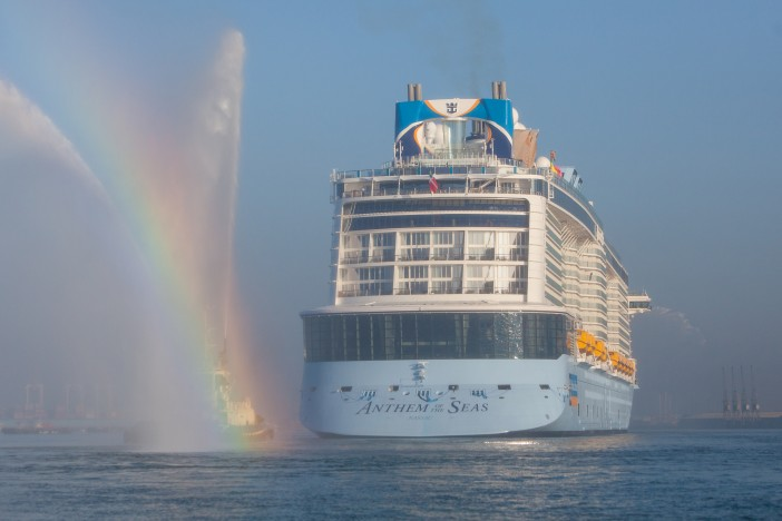 Anthem of the Seas Arrives in the UK