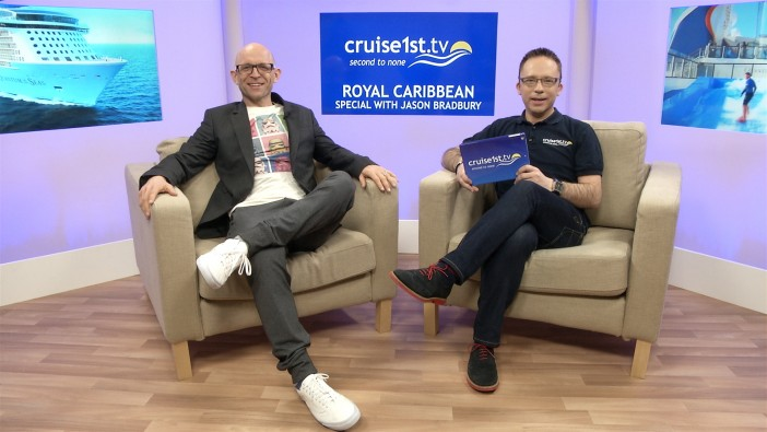 Gadget Show Host Pops Into The Cruise1st Tv Studio Cruise1st Blog
