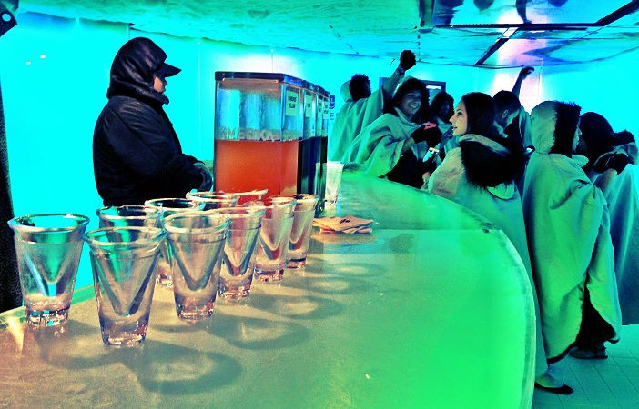 Norwegian Epic Ice Bar