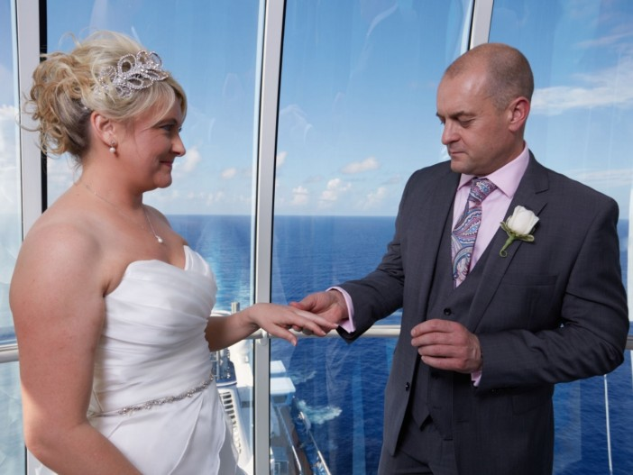 British Couple Tie the Knot in Sky High North Star Wedding