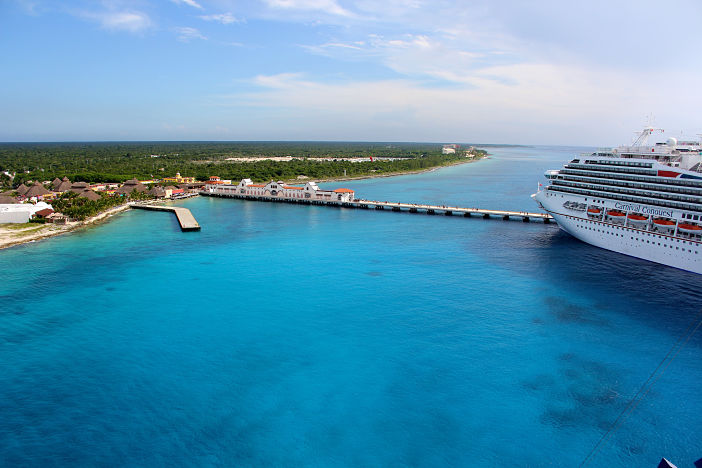 Cruise Miss Explores Cozumel