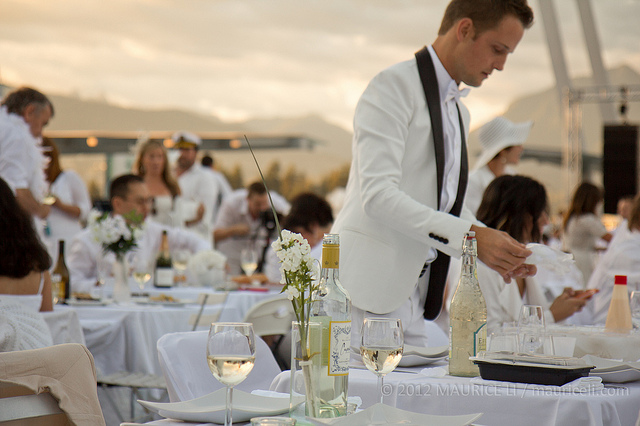 Celebrity Cruises Announces Coveted Partnership with Diner en Blanc International