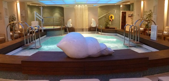 Spa in cruise ship
