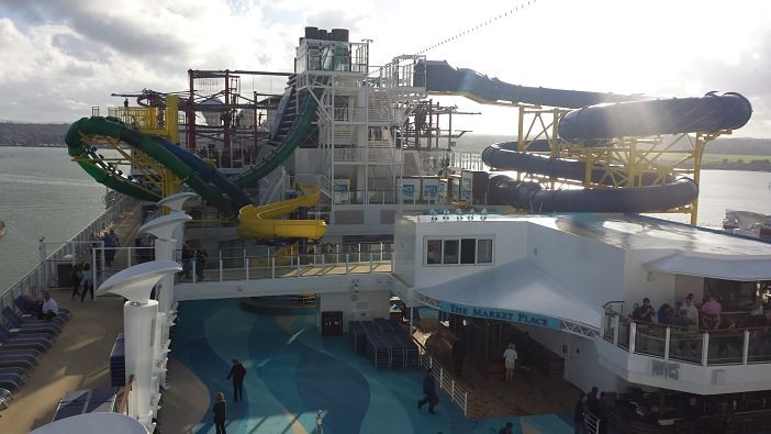 Norwegian Escape Slides