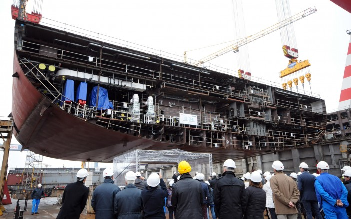 Construction Begins on Fourth Oasis Class Ship