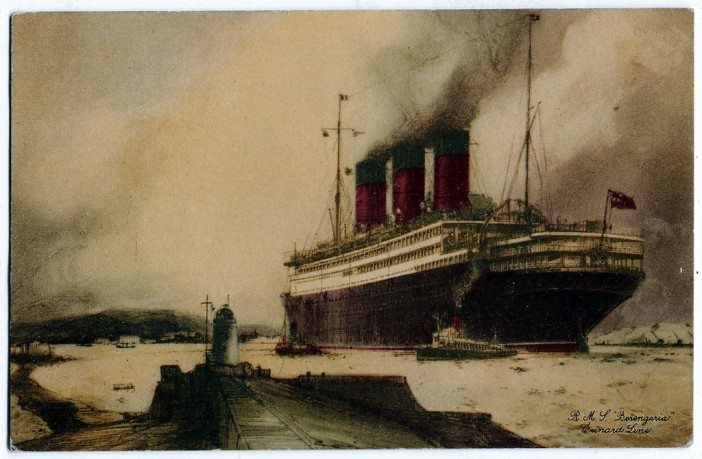 Cunard Carpathia - George Thomas