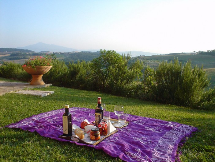 Tuscan Picnic - Pete the painter