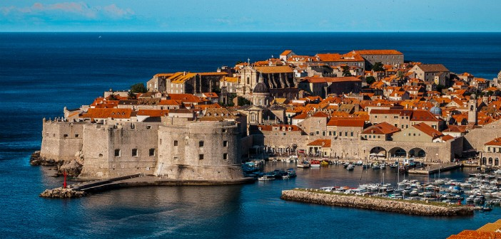 dubrovnik city view
