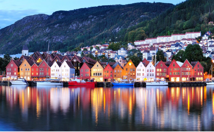 City of Bergen in Norway