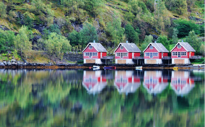 Flam in Norway