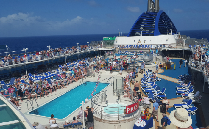 caribbean and america aboard oceana with cruise miss part 1