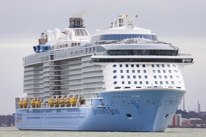 A Look at the Ovation of the Seas' Big Launch