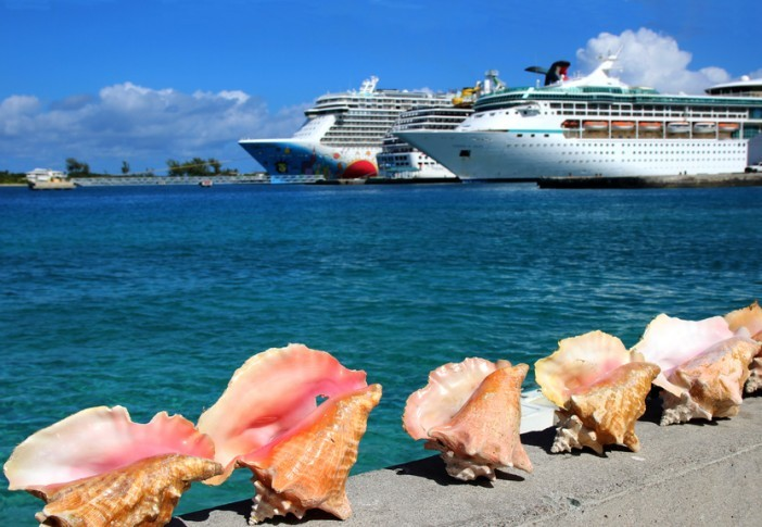 sea shells and cruise ships Caribbean travel guide
