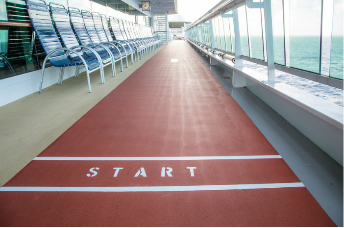 Cruise Miss tips to keep fit and healthy on a cruise
