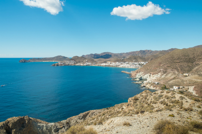 cabo de gata in the coast of almeria, Spain