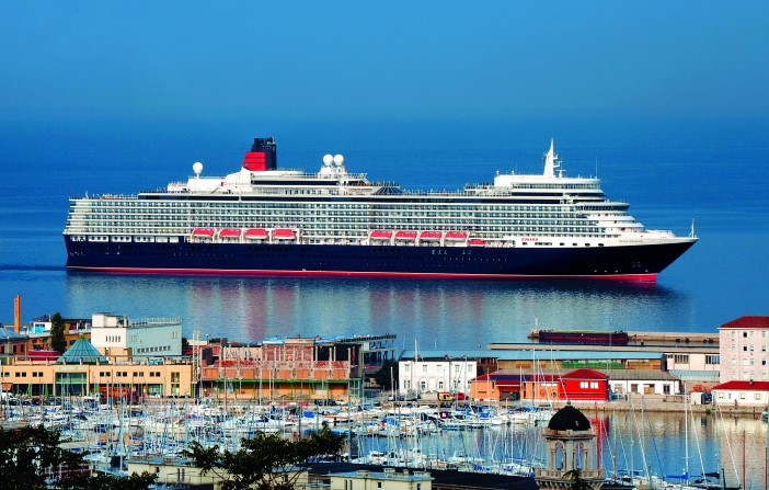 A Glimpse at Cunard's New Look Queen Mary 2