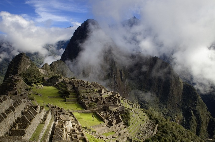 The mountains of Peru